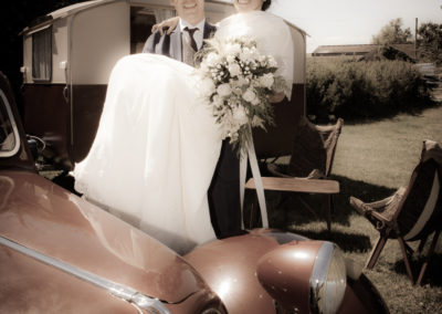 Vintage wedding photography by Seven Springs Studios