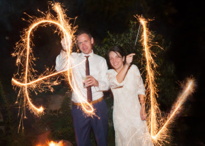 Fireworks - wedding photography by Seven Springs Studios