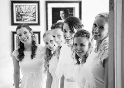 The Girls - wedding photography in Dorset by Seven Springs Studios