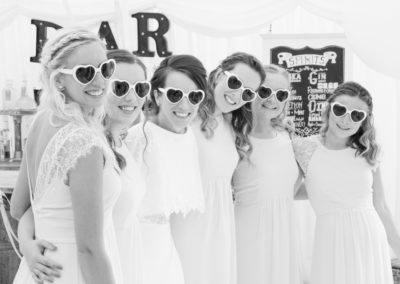Cool girls - wedding photography in Dorset by Seven Springs Studios