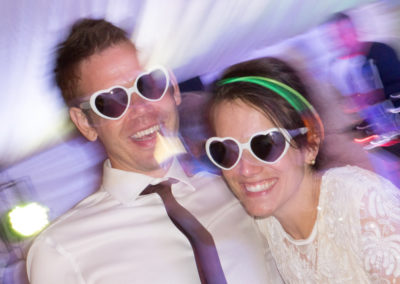 Party time - wedding photography by Seven Springs Studios