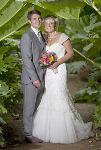 Happy Couple - Wedding by Seven Springs Studios