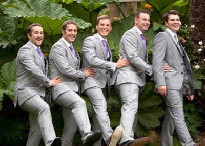 The Men - wedding photography by Seven Springs Studios