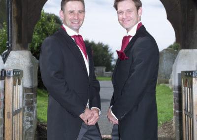 Best Man - wedding photography in Dorset by Seven Springs Studios