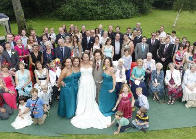 Everyone - wedding photography by Seven Springs Studios