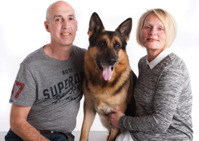 Pet portrait photography Dorset  German Shepherd