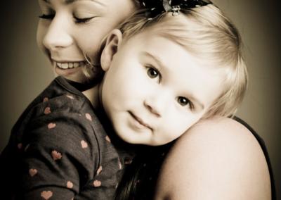Family portrait photography Dorchester Dorset Mum & Daughter