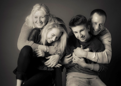 Family portrait photography Dorchester Dorset relaxed