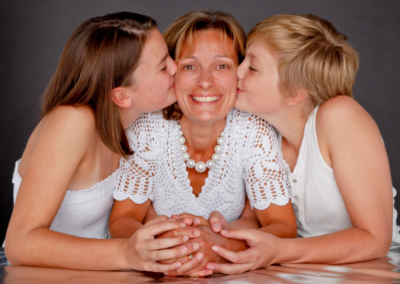 Family portrait photography Dorchester Dorset Mum