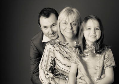 Family portrait photography Dorchester Dorset Three