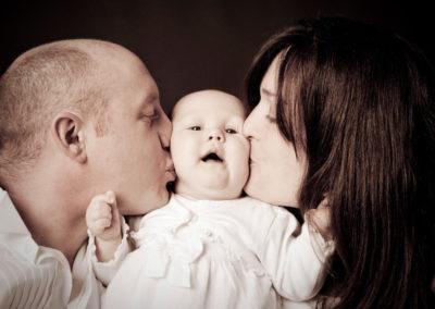 Family portrait photography Dorchester Dorset Kiss 1
