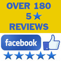 Over 180 five star reviews