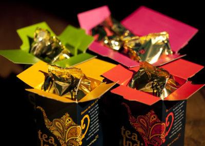 Tea India Open Boxes