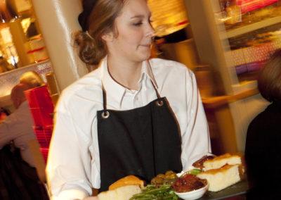 Waitress in Dorchester Serving