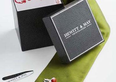 Hewitt & May Tie Display