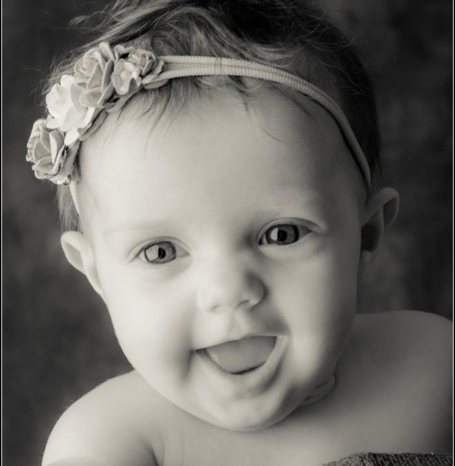 Grace's 8 Month Baby Portrait