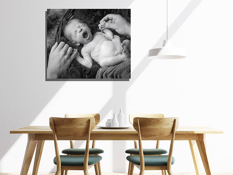 Seven Springs Studios Baby Portrait Room Example