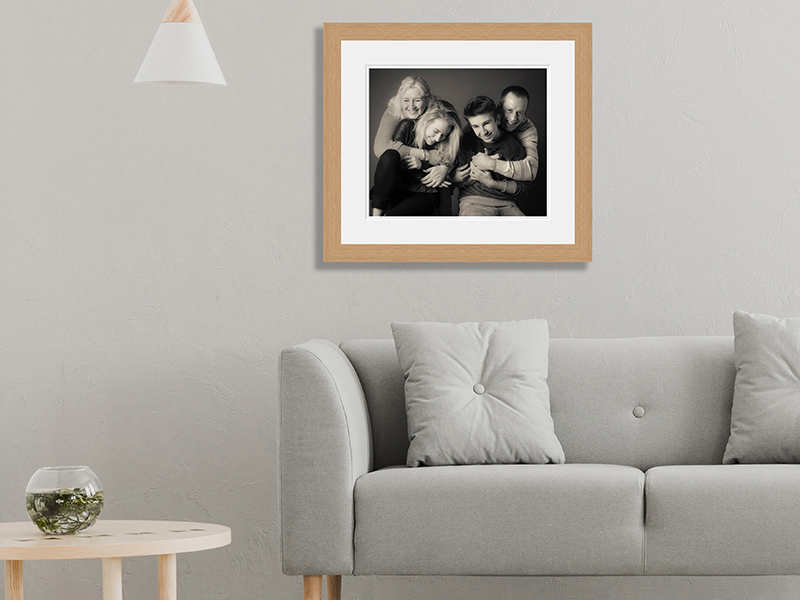 Seven Springs Studios Family Portrait Room Example